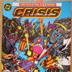 Cómics: LIGA DE LA JUSTICIA- ESPECIAL CRISIS - DC COMICS - ZINCO - 1987 - NUMERO 12 - COMO NUEVO - NM. Lote 93144250