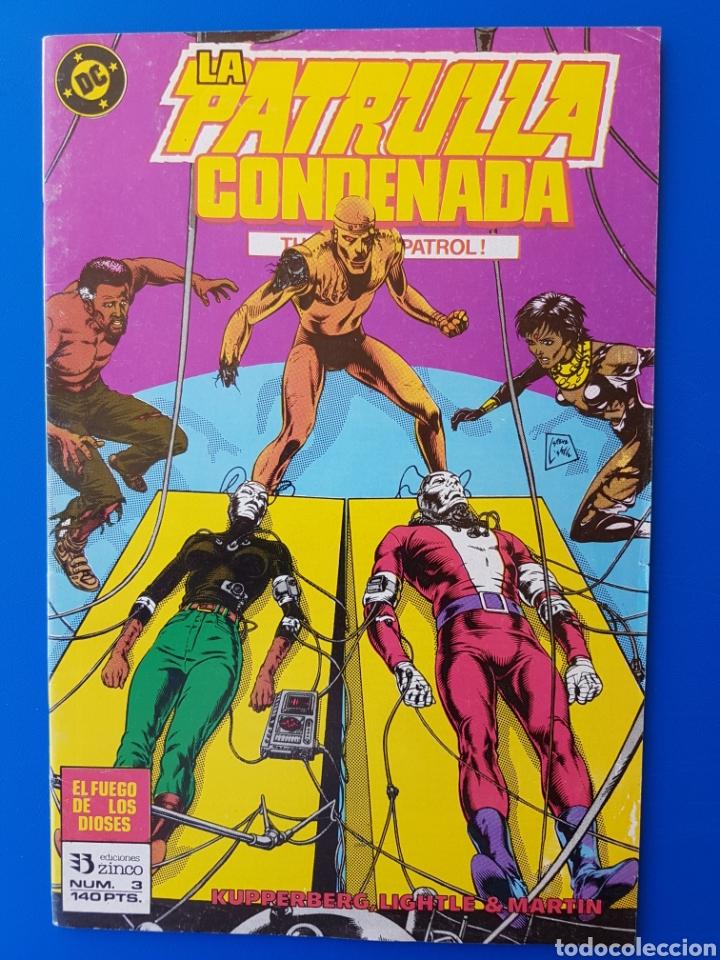 LA PATRULLA CONDENADA N° 3 ZINCO DC DOOM PATROL (Tebeos y Comics - Zinco - Patrulla Condenada)