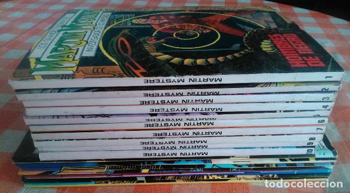 MARTIN MYSTERE COMPLETA (ZINCO 1982/84) 17 NOVELAS EN BASTANTE BUEN ESTADO. (Tebeos y Comics - Zinco - Otros)
