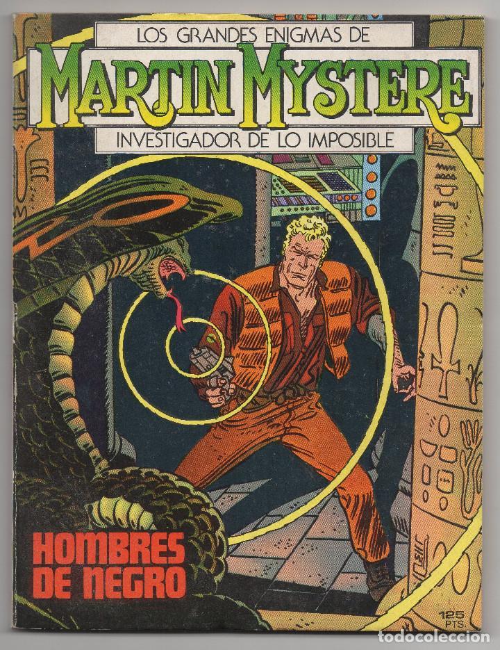 Cómics: MARTIN MYSTERE COMPLETA (Zinco 1982/84) 17 novelas en bastante buen estado. - Foto 2 - 93319095