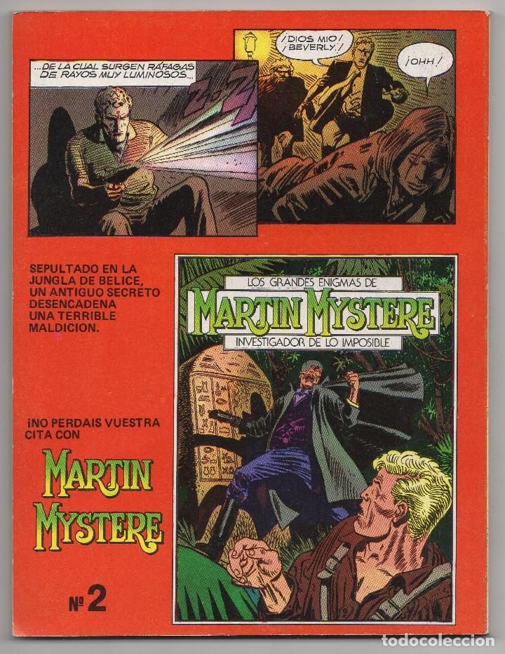 Cómics: MARTIN MYSTERE COMPLETA (Zinco 1982/84) 17 novelas en bastante buen estado. - Foto 3 - 93319095
