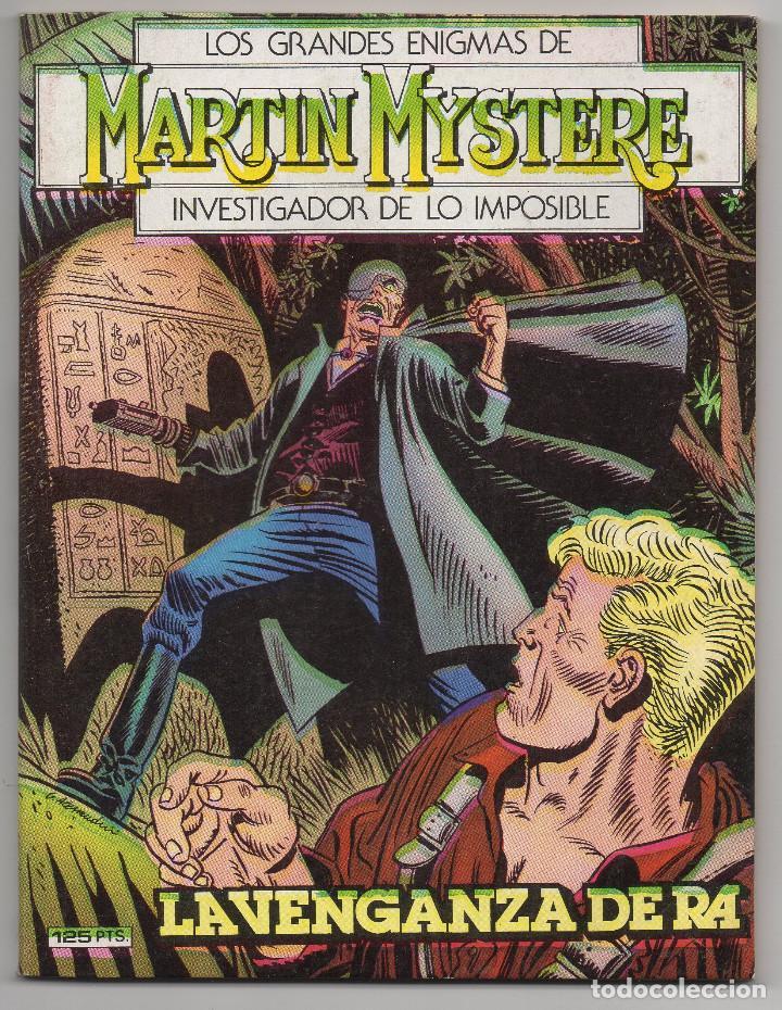 Cómics: MARTIN MYSTERE COMPLETA (Zinco 1982/84) 17 novelas en bastante buen estado. - Foto 4 - 93319095