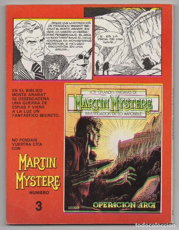 Cómics: MARTIN MYSTERE COMPLETA (Zinco 1982/84) 17 novelas en bastante buen estado. - Foto 5 - 93319095