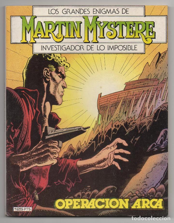 Cómics: MARTIN MYSTERE COMPLETA (Zinco 1982/84) 17 novelas en bastante buen estado. - Foto 6 - 93319095
