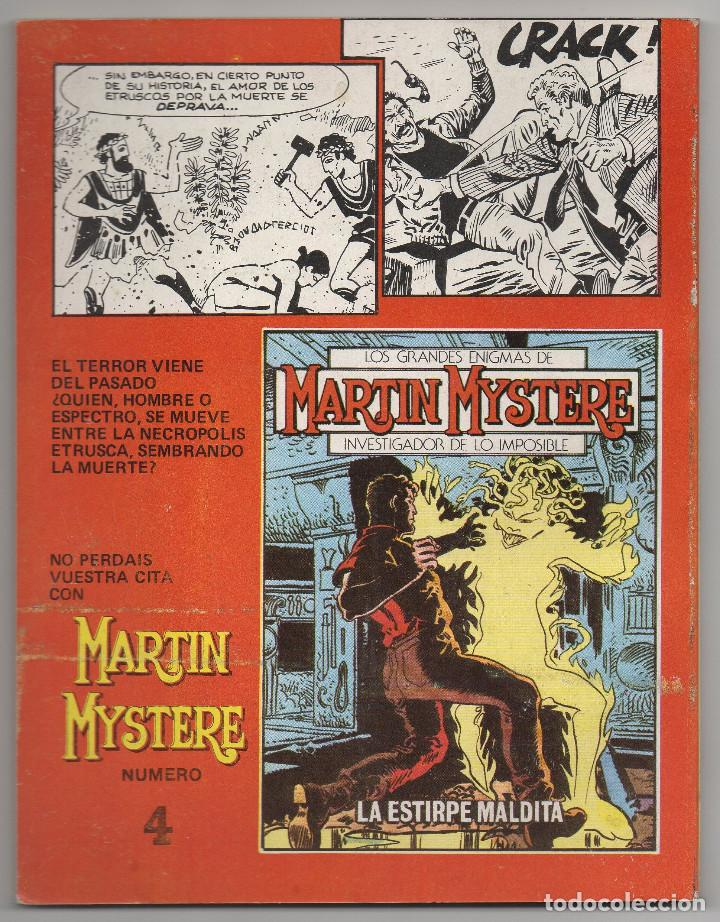 Cómics: MARTIN MYSTERE COMPLETA (Zinco 1982/84) 17 novelas en bastante buen estado. - Foto 7 - 93319095