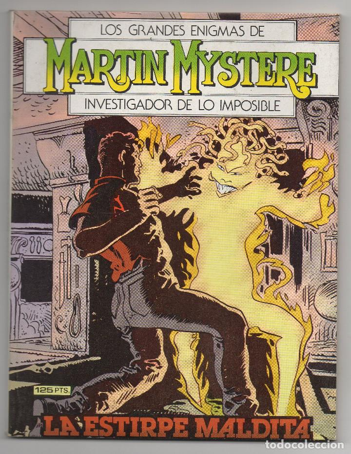 Cómics: MARTIN MYSTERE COMPLETA (Zinco 1982/84) 17 novelas en bastante buen estado. - Foto 8 - 93319095