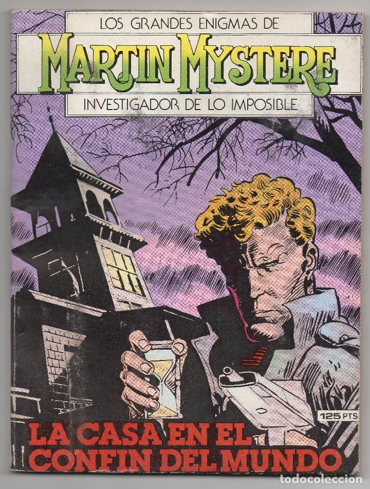 Cómics: MARTIN MYSTERE COMPLETA (Zinco 1982/84) 17 novelas en bastante buen estado. - Foto 10 - 93319095