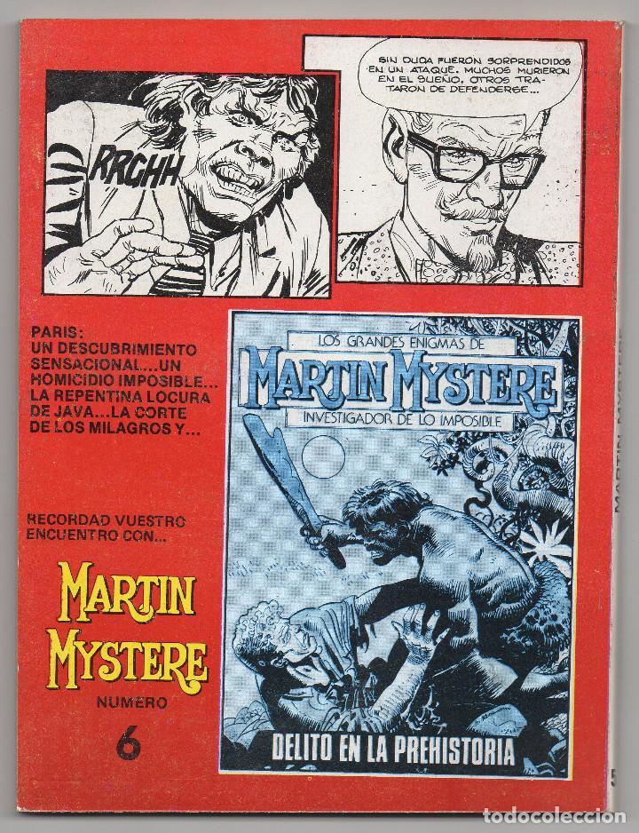 Cómics: MARTIN MYSTERE COMPLETA (Zinco 1982/84) 17 novelas en bastante buen estado. - Foto 11 - 93319095