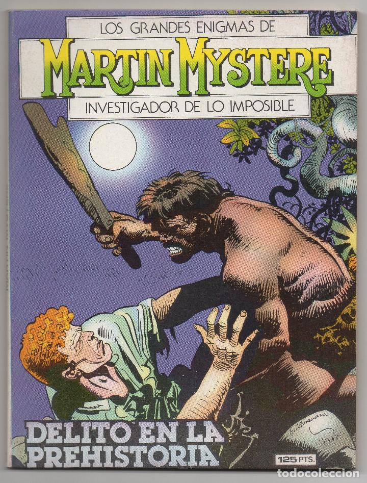 Cómics: MARTIN MYSTERE COMPLETA (Zinco 1982/84) 17 novelas en bastante buen estado. - Foto 12 - 93319095