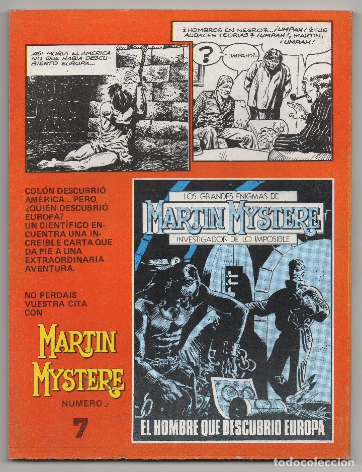 Cómics: MARTIN MYSTERE COMPLETA (Zinco 1982/84) 17 novelas en bastante buen estado. - Foto 13 - 93319095