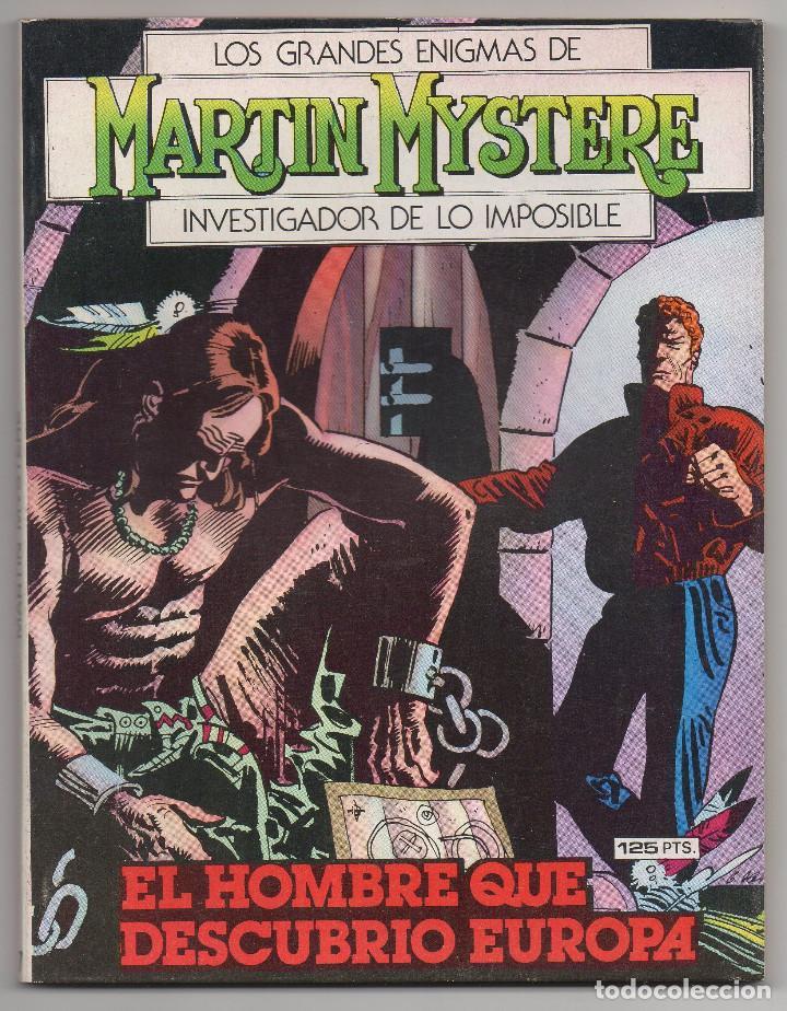 Cómics: MARTIN MYSTERE COMPLETA (Zinco 1982/84) 17 novelas en bastante buen estado. - Foto 14 - 93319095