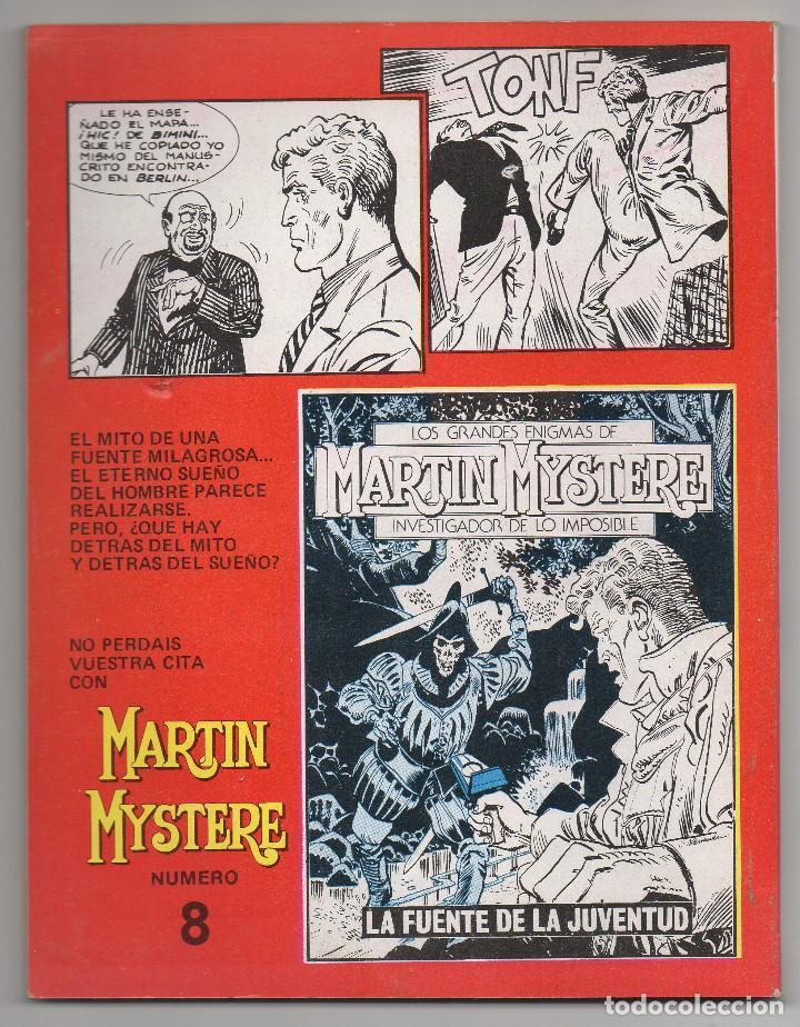 Cómics: MARTIN MYSTERE COMPLETA (Zinco 1982/84) 17 novelas en bastante buen estado. - Foto 15 - 93319095