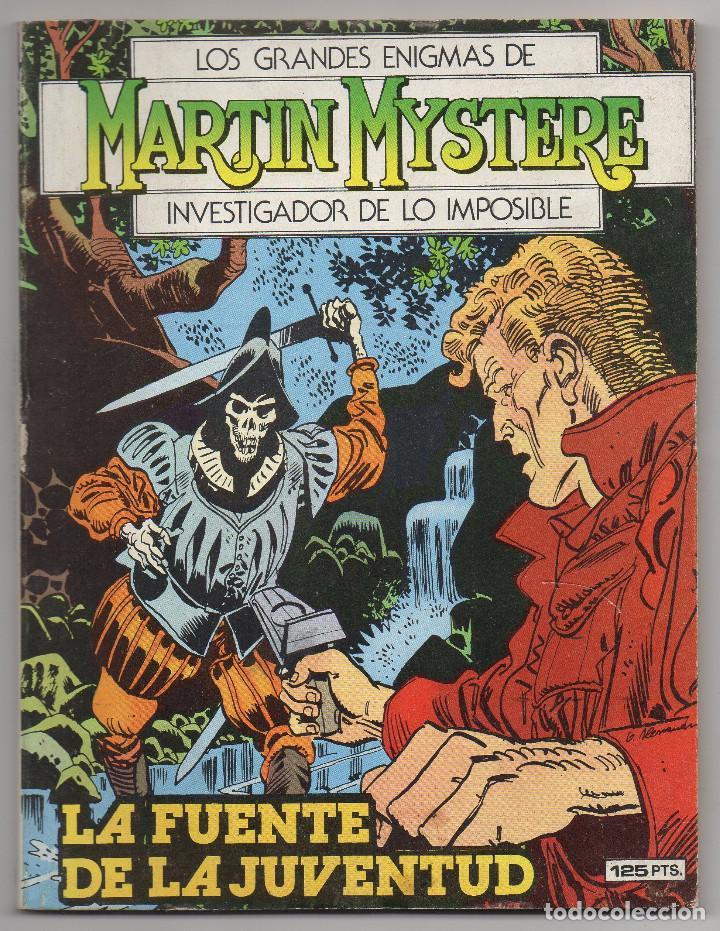 Cómics: MARTIN MYSTERE COMPLETA (Zinco 1982/84) 17 novelas en bastante buen estado. - Foto 16 - 93319095