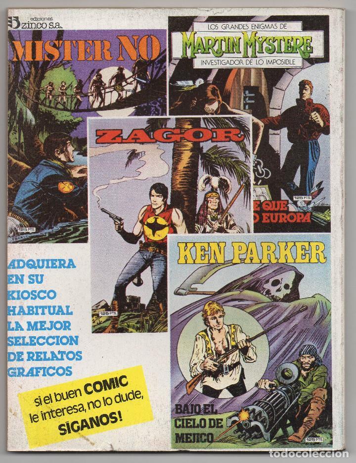 Cómics: MARTIN MYSTERE COMPLETA (Zinco 1982/84) 17 novelas en bastante buen estado. - Foto 17 - 93319095