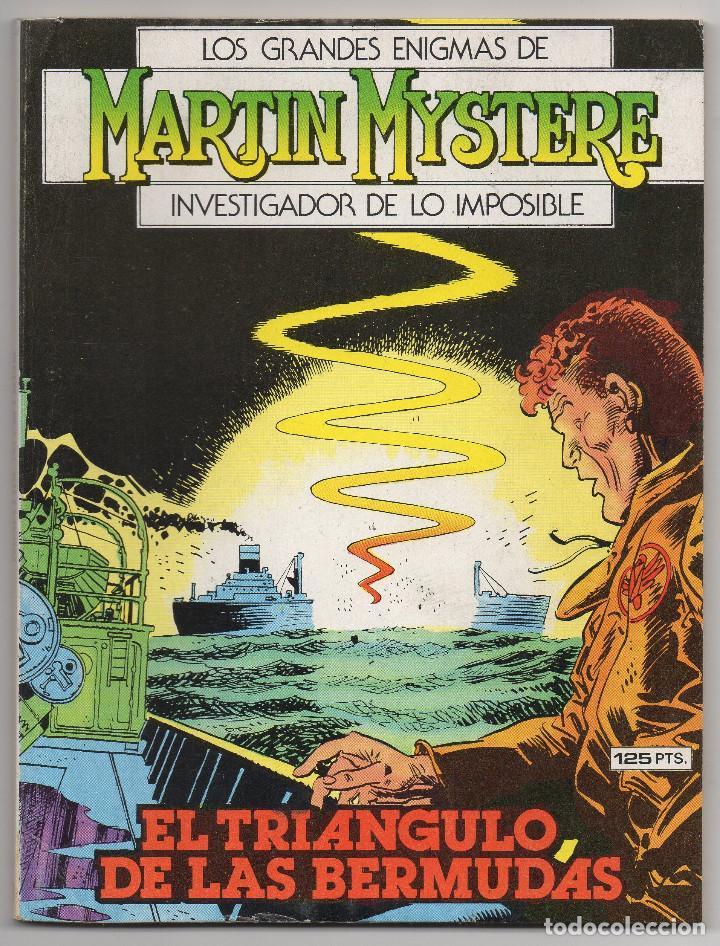 Cómics: MARTIN MYSTERE COMPLETA (Zinco 1982/84) 17 novelas en bastante buen estado. - Foto 18 - 93319095