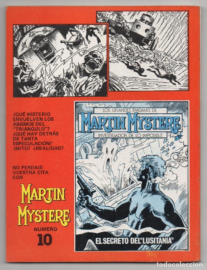 Cómics: MARTIN MYSTERE COMPLETA (Zinco 1982/84) 17 novelas en bastante buen estado. - Foto 19 - 93319095
