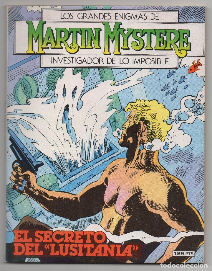 Cómics: MARTIN MYSTERE COMPLETA (Zinco 1982/84) 17 novelas en bastante buen estado. - Foto 20 - 93319095