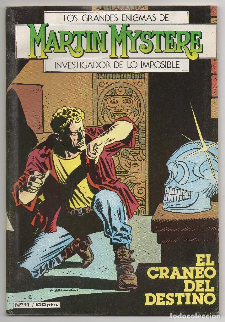 Cómics: MARTIN MYSTERE COMPLETA (Zinco 1982/84) 17 novelas en bastante buen estado. - Foto 22 - 93319095