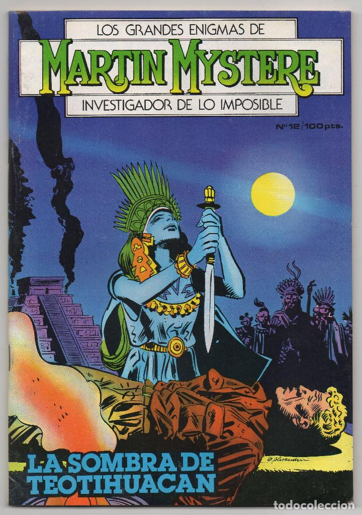 Cómics: MARTIN MYSTERE COMPLETA (Zinco 1982/84) 17 novelas en bastante buen estado. - Foto 24 - 93319095