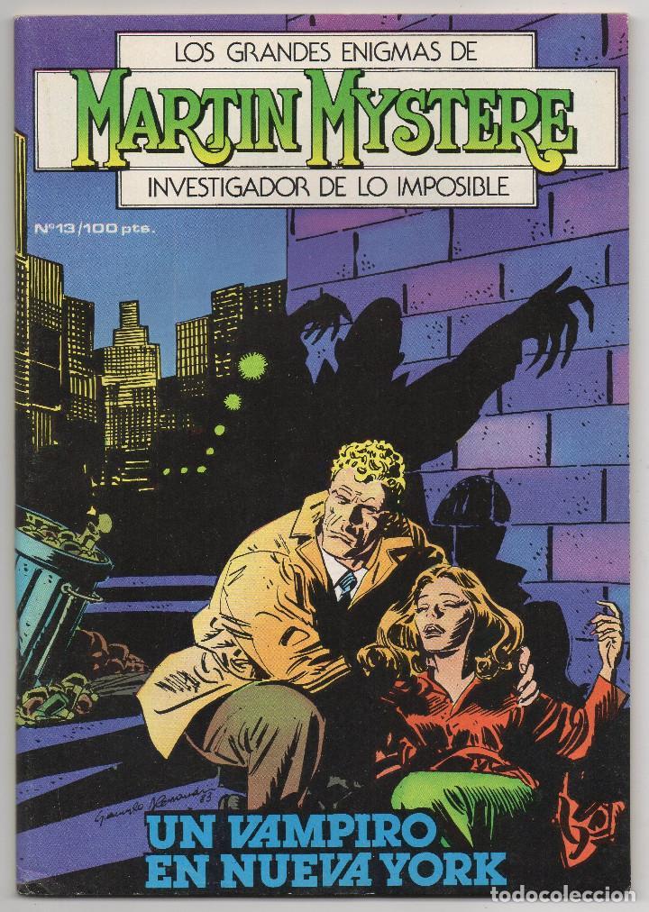 Cómics: MARTIN MYSTERE COMPLETA (Zinco 1982/84) 17 novelas en bastante buen estado. - Foto 26 - 93319095