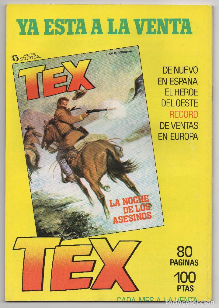 Cómics: MARTIN MYSTERE COMPLETA (Zinco 1982/84) 17 novelas en bastante buen estado. - Foto 27 - 93319095