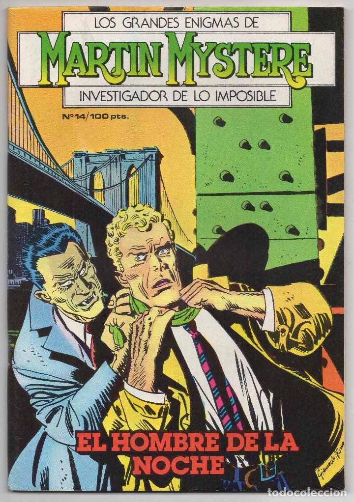 Cómics: MARTIN MYSTERE COMPLETA (Zinco 1982/84) 17 novelas en bastante buen estado. - Foto 28 - 93319095