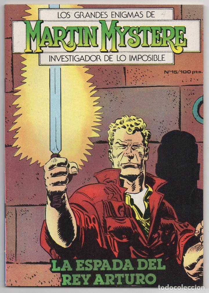 Cómics: MARTIN MYSTERE COMPLETA (Zinco 1982/84) 17 novelas en bastante buen estado. - Foto 30 - 93319095