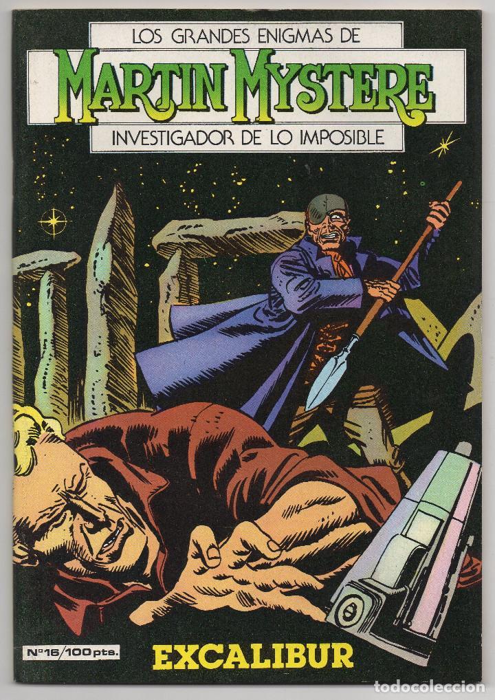 Cómics: MARTIN MYSTERE COMPLETA (Zinco 1982/84) 17 novelas en bastante buen estado. - Foto 32 - 93319095