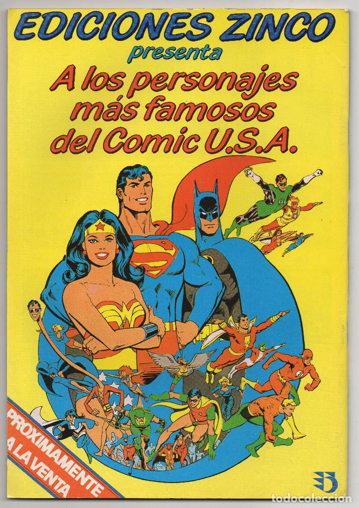 Cómics: MARTIN MYSTERE COMPLETA (Zinco 1982/84) 17 novelas en bastante buen estado. - Foto 33 - 93319095