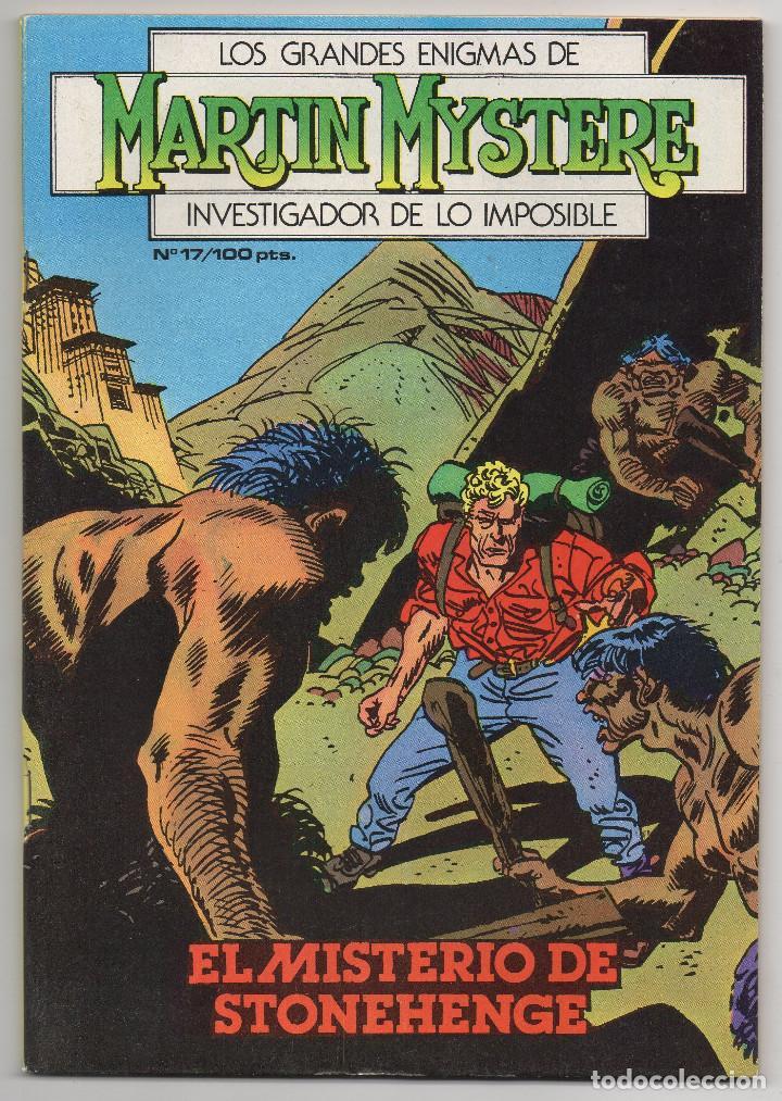 Cómics: MARTIN MYSTERE COMPLETA (Zinco 1982/84) 17 novelas en bastante buen estado. - Foto 34 - 93319095