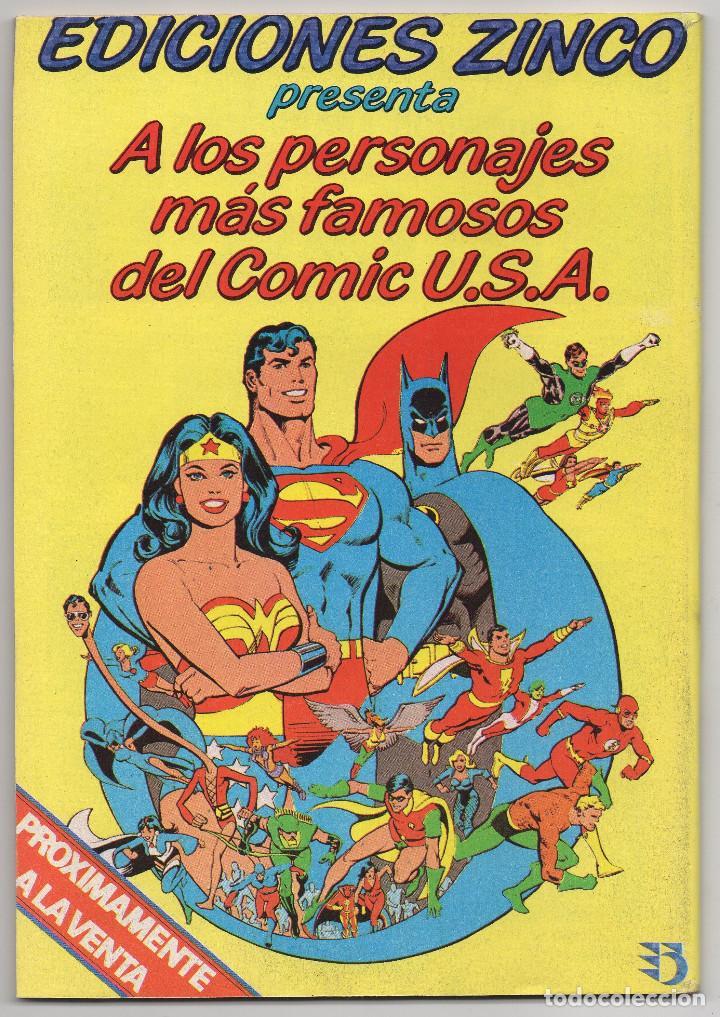 Cómics: MARTIN MYSTERE COMPLETA (Zinco 1982/84) 17 novelas en bastante buen estado. - Foto 35 - 93319095