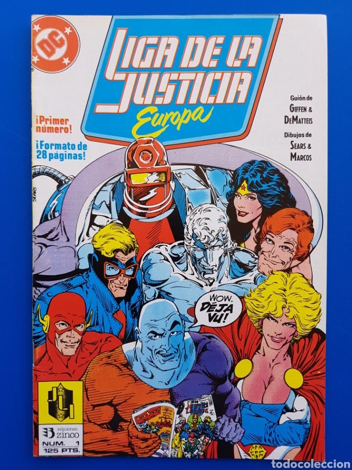 LIGA DE LA JUSTICIA EUROPA N° 1 ZINCO DC (Tebeos y Comics - Zinco - Liga de la Justicia)