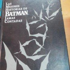 Comics - LAS MEJORES HISTORIAS DE BATMAN JAMAS CONTADAS EDIT ZINCO AÑO 1988 - 93580070