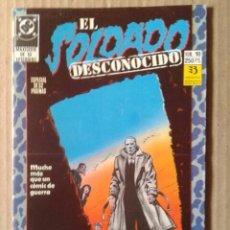 Cómics: EL SOLDADO DESCONOCIDO N°10. EDICIONES ZINCO. ESPECIAL 52 PÁGINAS (ÚLTIMO NÚMERO DE LA MAXISERIE).. Lote 94020482