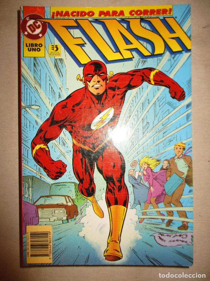 COLECCION COMPLETA-FLASH-6 EJEMPLARES-ED.ZINCO- (Tebeos y Comics - Zinco - Prestiges y Tomos)