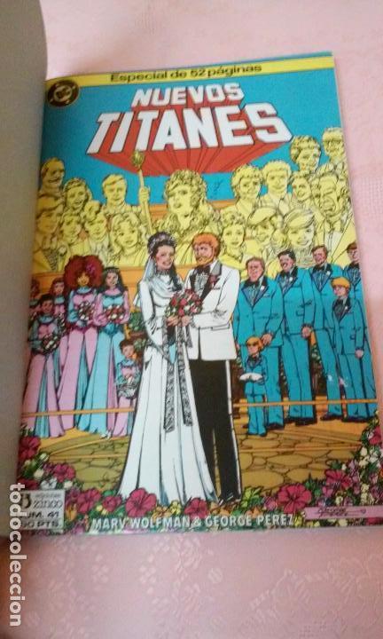 Cómics: NUEVOS TITANES NUMEROS 41 AL 44 RETAPADOS (EDICIONES ZINCO)AÑOS 80 - Foto 2 - 96820672