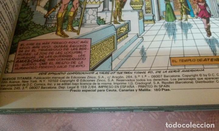 Cómics: NUEVOS TITANES NUMEROS 41 AL 44 RETAPADOS (EDICIONES ZINCO)AÑOS 80 - Foto 7 - 96820672
