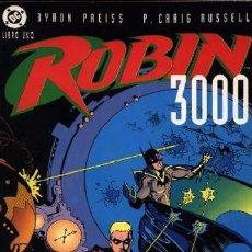 Cómics: ROBIN 3000 LIBRO UNO PREISS/ CRAIG RUSSELL - OTROS MUNDOS DC COMICS ZINCO. Lote 94341394