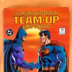 Cómics: LAS MEJORES HISTORIAS DE TEAM UP JAMAS CONTADAS DC COMICS 294 PAG TAPAS DURAS BATMAN SUPERMAN 1990. Lote 94358862