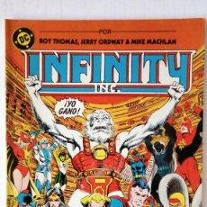 Cómics: INFINITY INC - Nº 7 - QUE VERDE ES MI VICTORIA. Lote 94452006