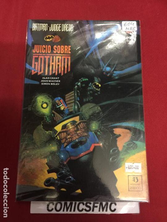 DC BATMAN Y JUDDE DREDD JUICIO SOBRE GOTHAM MUY BUEN ESTADO REF.604 (Tebeos y Comics - Zinco - Batman)