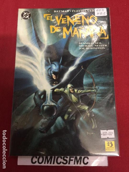 DC BATMAN EL VENENO DE MAÑANA MUY BUEN ESTADO REF.609 (Tebeos y Comics - Zinco - Batman)