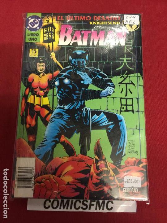 DC BATMAN EL ULTIMO DESAFIO TOMO 1 Y 2 MUY BUEN ESTADO (Tebeos y Comics - Zinco - Batman)