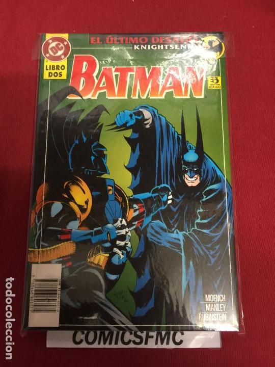 Cómics: DC BATMAN EL ULTIMO DESAFIO TOMO 1 Y 2 MUY BUEN ESTADO - Foto 2 - 94740863