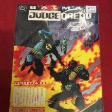 Cómics: DC BATMAN JUDGE DREDD VENDETTA EN GOTHAM MUY BUEN ESTADO REF.620. Lote 94741283