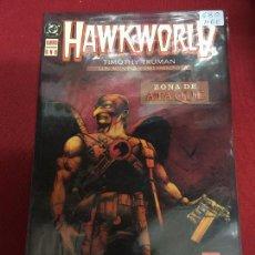 Cómics: DC HAWKWORLD ZONA DE ATAQUE TOMOS 1 AL 3 EN MUY BUEN ESTADO. Lote 94758943