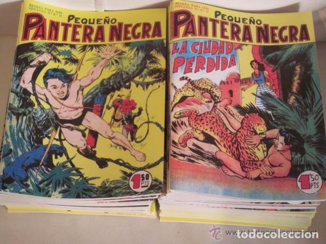 PEQUEÑO PANTERA NEGRA COLECCION COMPLETA (Tebeos y Comics - Zinco - Question)