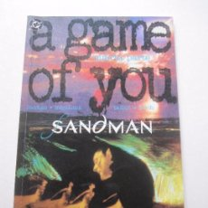 Cómics: SANDMAN: A GAME OF YOU (UN JUEGO DE TI) Nº 4 GAIMAN MCMANUS DC COMICS VERTIGO ZINCO EP3. Lote 95120755