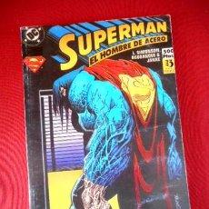Cómics: SUPERMAN EL HOMBRE DE ACERO Nº12-13-14 (RETAPADO Nº41). Lote 95192495