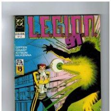 Comics : LEGION 91 TOMO RETAPADO Nº 2 CON NÚMEROS 6,7,8,9 Y 10.CON SUS PORTADAS.. Lote 95314591